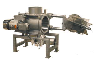 Drop Through Rotary Valve with Transition and Stand