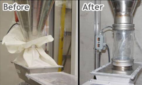 BFM® Fitting A Breath Of Fresh Air For Bulk Powder Processors