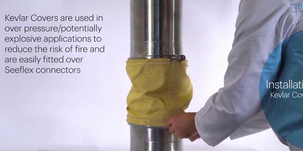 Installing BFM® fitting Kevlar Cover