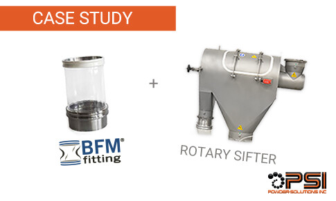 BFM fittings on Sugar Sifters