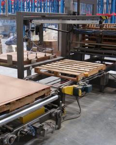 包装和填充调色板处理