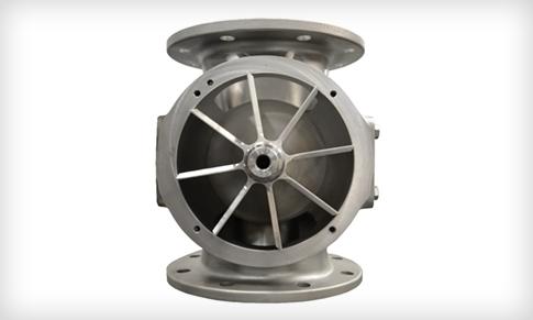 你的旋转阀或气闸在外面吗?旋转阀改造可能是一种选择