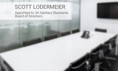 Scott Lodermier被任命为3A卫生标准董事会成员