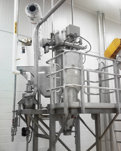 Cyclone Sugar Kettle Exhaust equipment