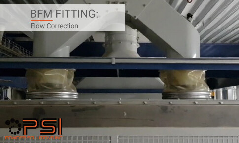 BFM fitting: Flow Correction