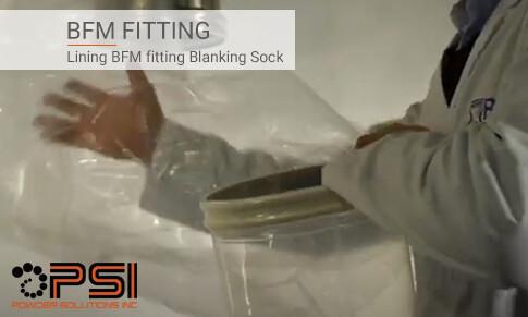 Video: Lining BFM fitting Blanking Sock