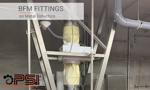 BFM fittings on Metal Detectors