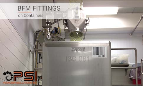 BFM fittings on Containers